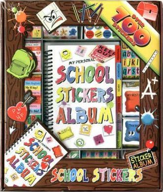 School Sticker Boxes: Medium