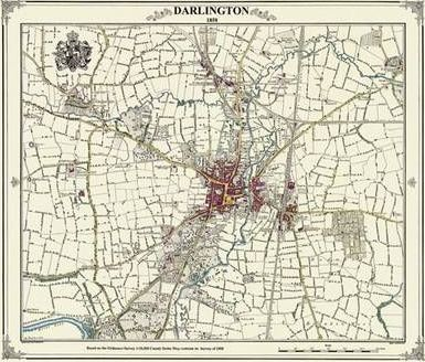 Darlington 1858 Coloured