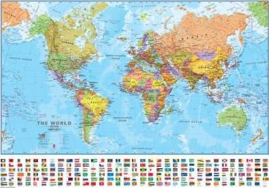 World Political Map 2018