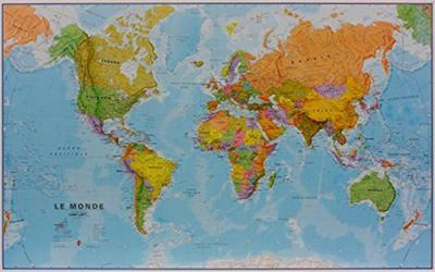 World Political Map: French Edition