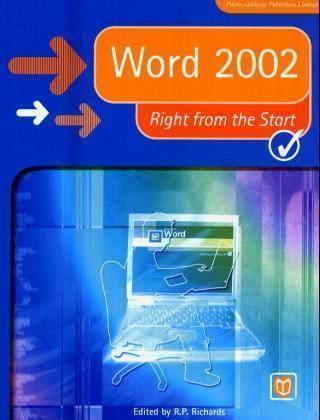 Word 2002 Right from the Start