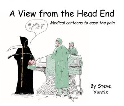 View from the Head End : Medical Cartoons to Ease the Pain