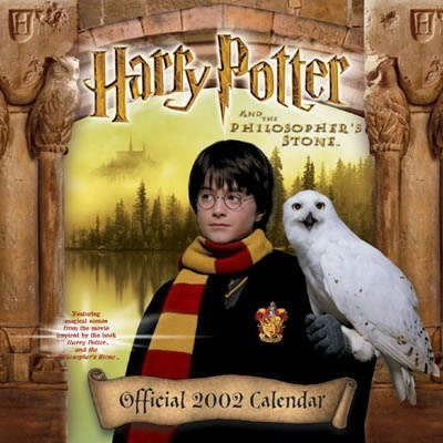 Harry Potter Calendar: 2002
