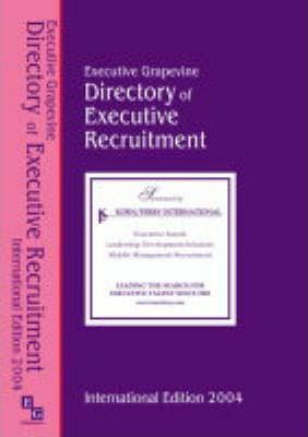 The International Directory of Executive Recruitment Consultants