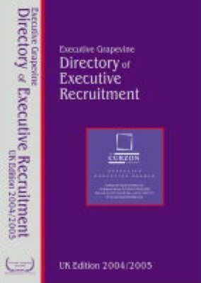 The UK Directory of Executive Recruitment