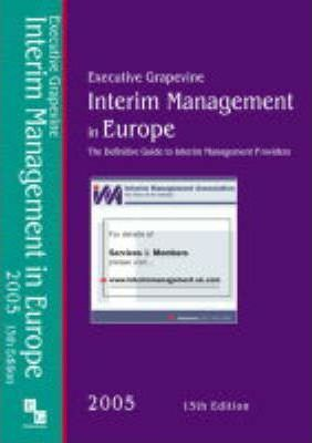 Interim Management in Europe