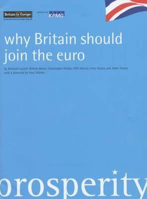 Why Britain Should Join the Euro