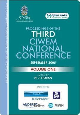 Proceedings of the Third CIWEM National Conference: v. 1 & 2