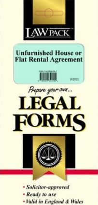 Unfurnished House or Flat Rental Agreement