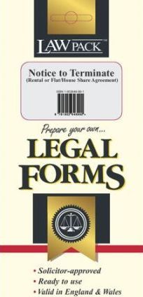 Notice to Terminate (rental or Flat/house Share Agreement)