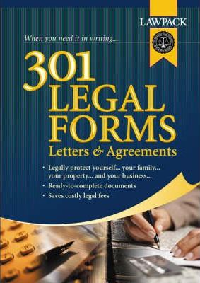 301 Legal Forms,Letters and Agreements