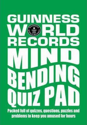 Guinness World Records Mind Bending Quiz Pad