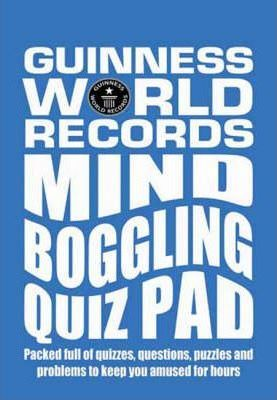 Guinness World Records Mind Boggling Quiz Pad