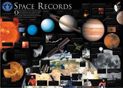 Guinness World Records Space Records Wallchart