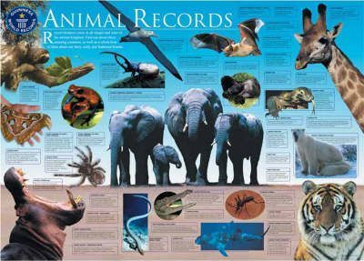 Guinness World Records Animal Records Wallchart