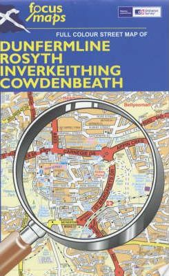 Full Colour Street Map of Dunfermline, Rosyth, Inverkeithing, Cowdenbeath: 014