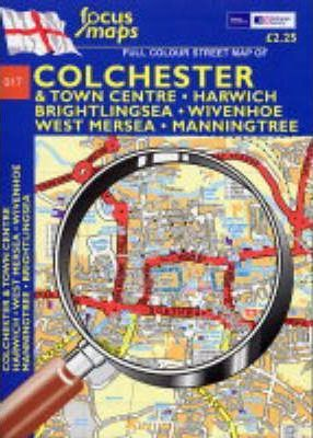 Full Colour Street Map of Colchester & Town Centre