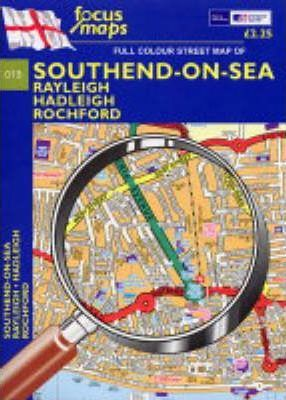 Full Colour Street Map of Southend-on-sea