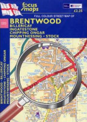 Full Colour Street Map of Brentwood