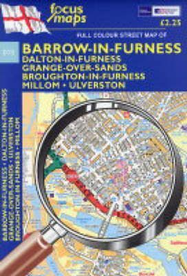 Full Colour Street Map of Barrow-in-Furness