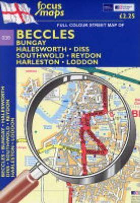 Full Colour Street Map of Beccles