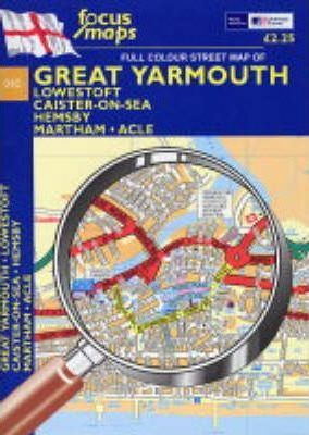 Full Colour Street Map of Great Yarmouth