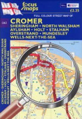 Full Colour Street Map of Cromer