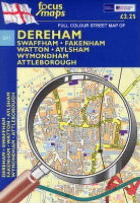 Full Colour Street Map of Dereham