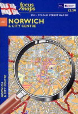 Full Colour Street Map of Norwich