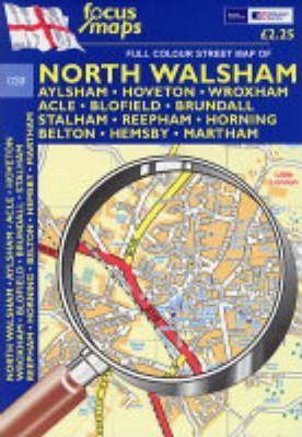 Full Colour Street Map of North Walsham