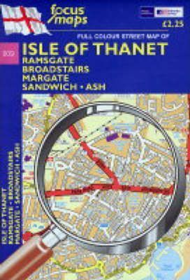 Full Colour Street Map of Isle of Thanet
