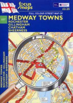 Full Colour Street Map of Medway Towns