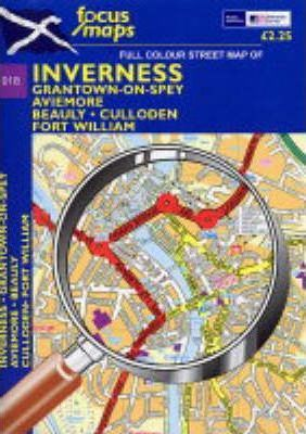 Full Colour Street Map of Inverness
