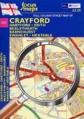 Full Colour Street Map of Crayford