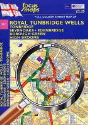 Full Colour Street Map of Royal Tunbridge Wells