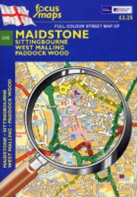 Full Colour Street Map of Maidstone
