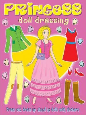 Princess Doll Sticker Dressing