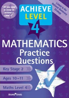 Achieve Level 4 Maths Practice Questions