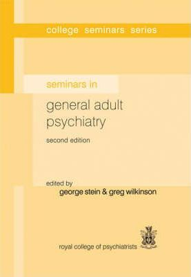 Seminars in General Adult Psychiatry Cover Image