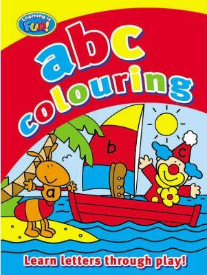 My First ABC Colouring Book