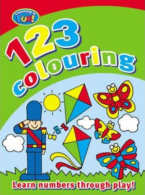 My First 123 Colouring Book