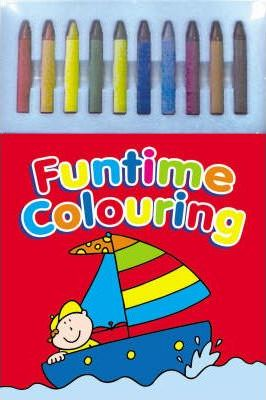 Fun Time Colouring Pads (4 Titles)
