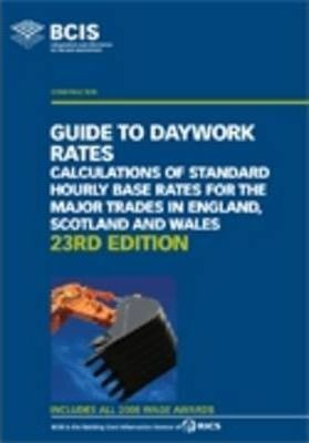 BCIS Guide to Daywork Rates 2009
