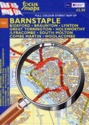 Full Colour Street Map of Barnstaple