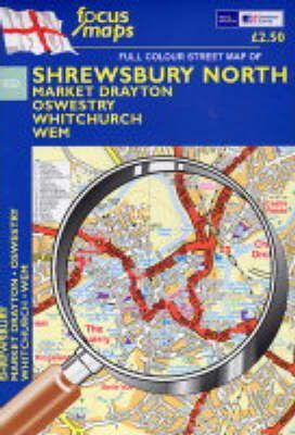 Full Colour Street Maps of Shrewsbury North