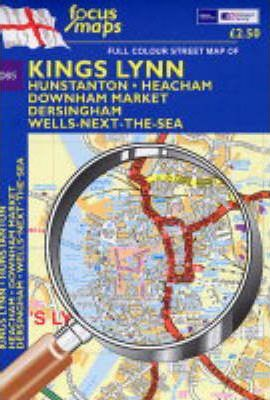 Full Colour Street Map of Kings Lynn