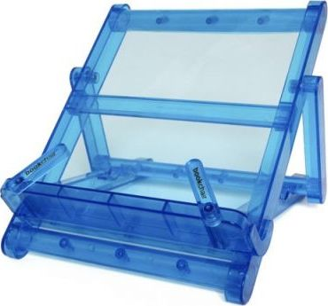 BOOKCHAIR MINI PLASTIC BLUE TRANSPARENT