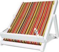 BOOKCHAIR LARGE PLASTIC STRIPY CLOTH