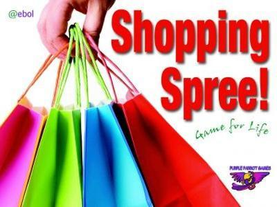 Purple Parrot Games: Shopping Spree! Game for Life