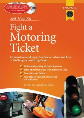 Astrosadventuresbookclub.com Fight a Motoring Ticket Kit : How to Claim Against Parking, Speeding and Other Motoring Offences Image